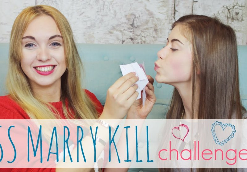 KISS MARRY KILL CHALLENGE