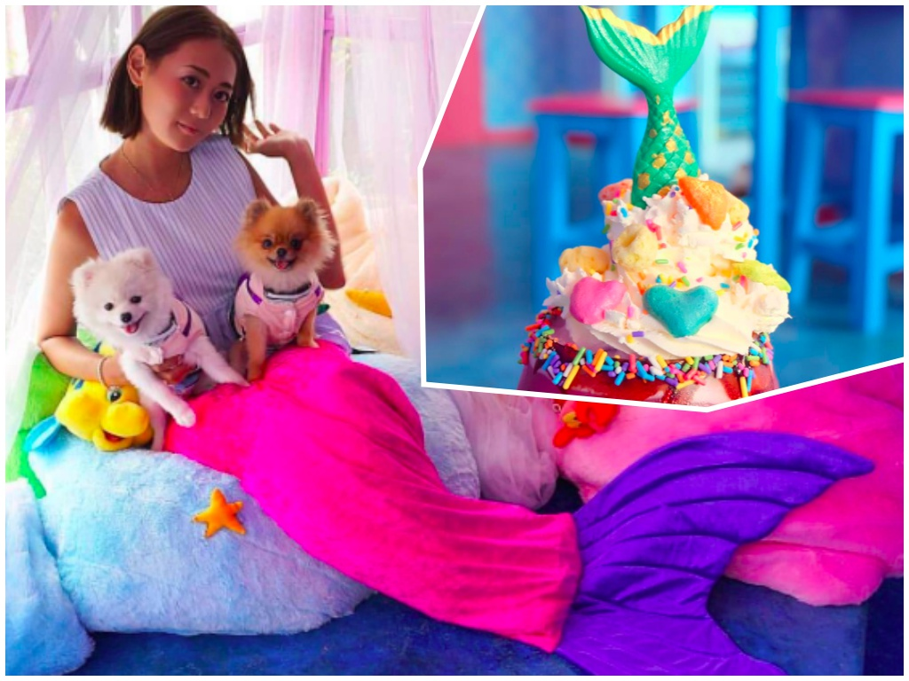 Mermaid Island Cafe – niesamowita kawiarnia dla fanów Małej Syrenki!