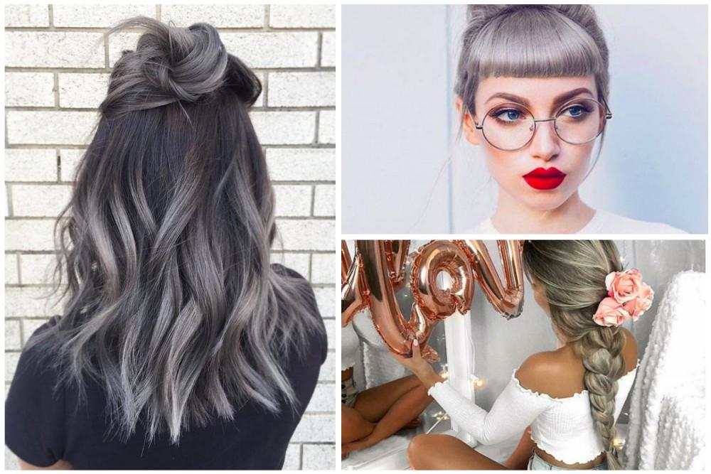 #Grannyhair – jak uzyskać szare włosy? Kilka zachwycających inspiracji