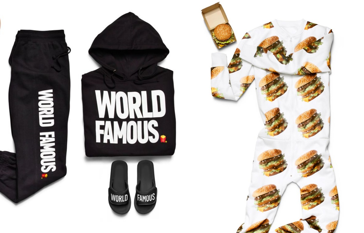 McDonald's wypuszcza swoje ciuchy i dodatki! Kolekcja McDelivery