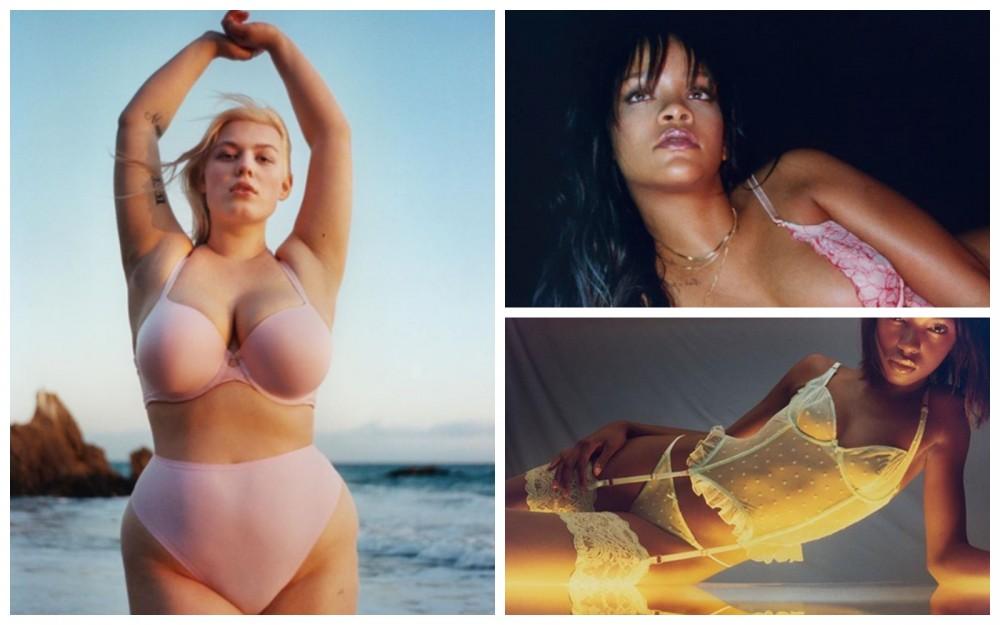 Rihanna wypuszcza kolekcję bielizny Fenty Plus Size – będzie hit?