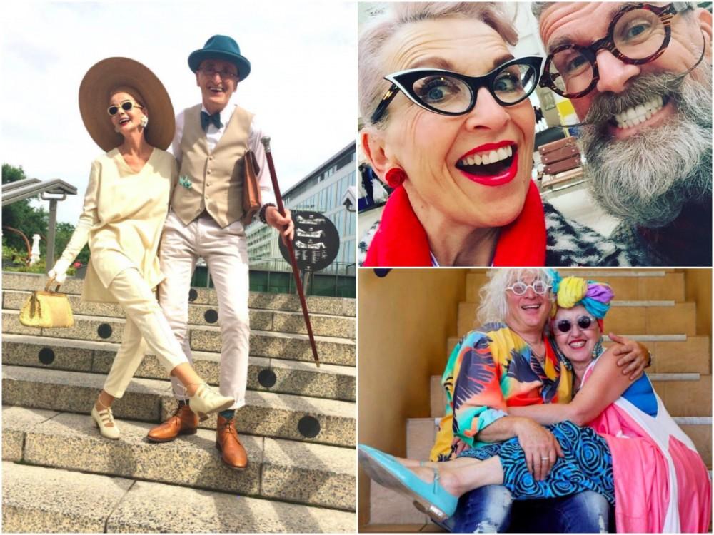 6 wystylizowanych starszych par, które zachwycają. Ci ludzie są uroczy!