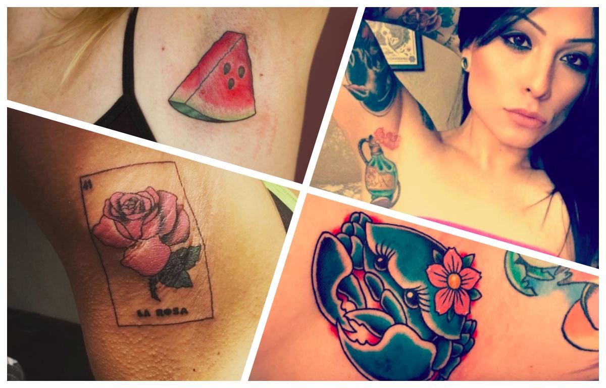 Nowy trend – tatuaże pod pachami? HIT czy KIT?