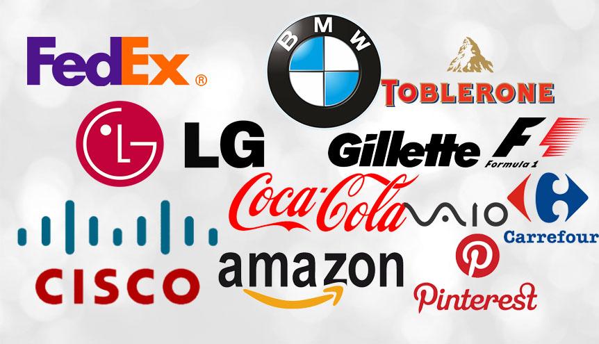 12 firm których logo zawiera ukryty przekaz