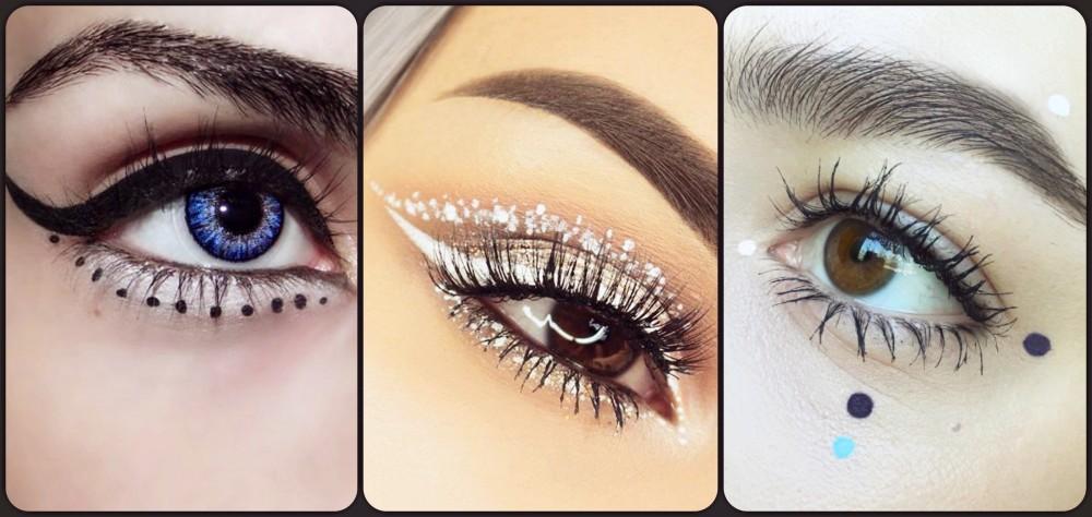 Dot Eyeliner | Nowy trend w makijażu