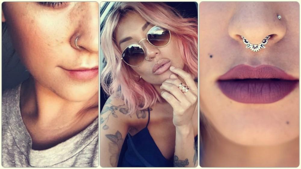 Fake piercing nowym trendem!