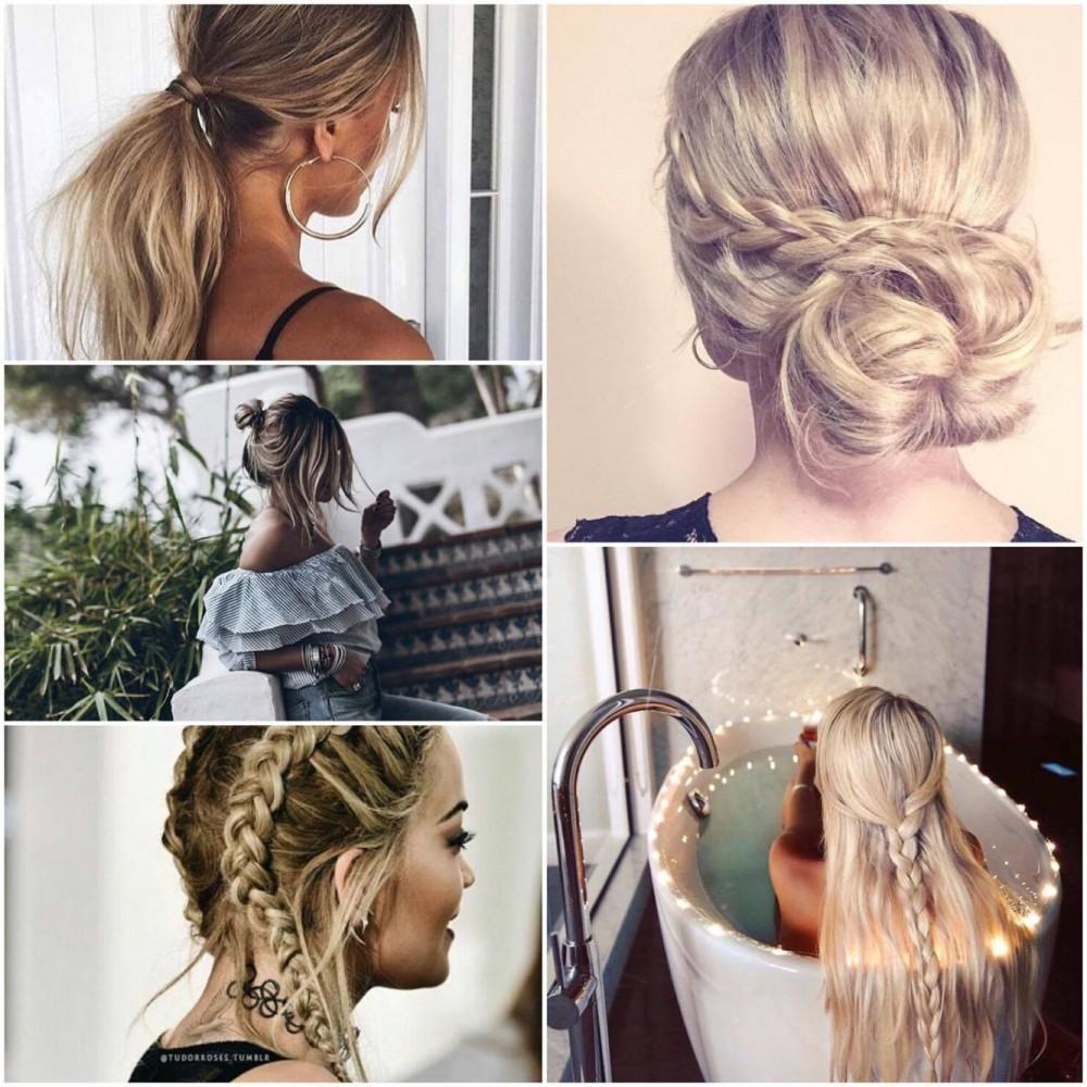 Wyczaruj modną fryzurę bez użycia prostownicy czy lokówki!