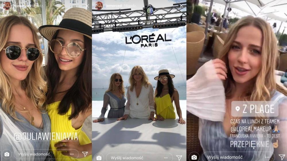 Jessica Mercedes i Julia Wieniawa w Cannes! Jak bawią się influencerki na Lazurowym Wybrzeżu?