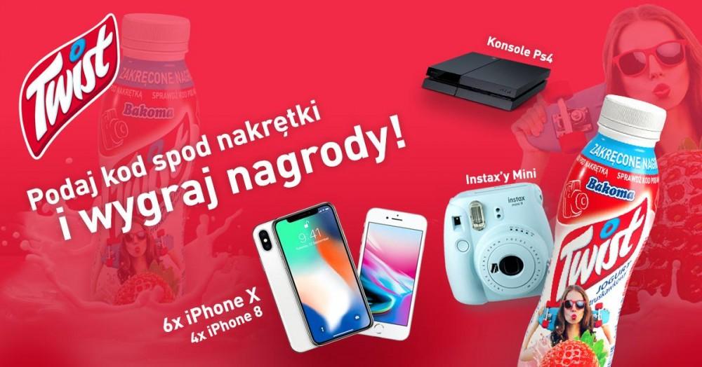 OSTATNIE DWIE RUNDY KONKURSU #TWISTYOURSELF! IPHONY X, INSTAXY I PLAYSTATION 4 CZEKAJĄ!