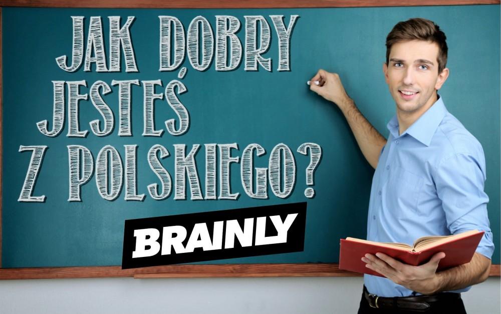 QUIZ: Jak dobry jesteś z języka polskiego?