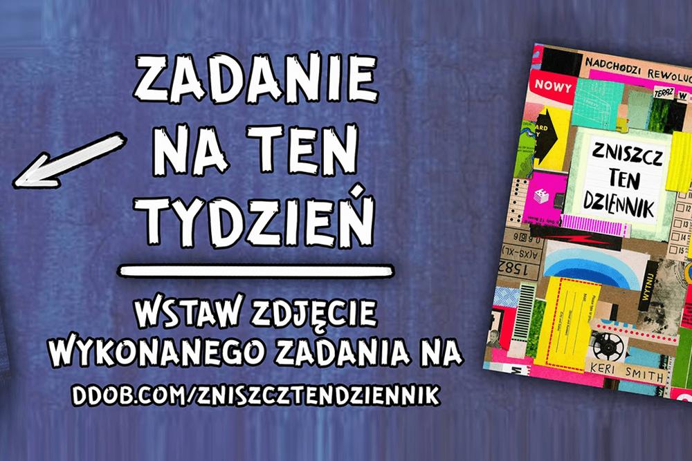 """Ruszył wielki konkurs """"Zniszcz ten Dziennik""""! Dołącz do zabawy!"""