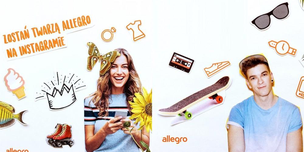 Weź udział w konkursie i zostań twarzą Allegro na Instagramie!