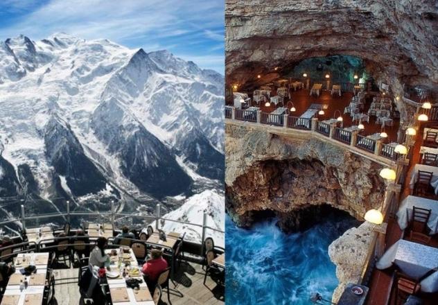 10 niezwykłych restauracji na świecie, w których musisz zjeść przed śmiercią