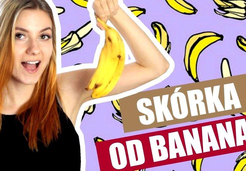 Niesamowite sposoby na wykorzystanie skórki od banana!