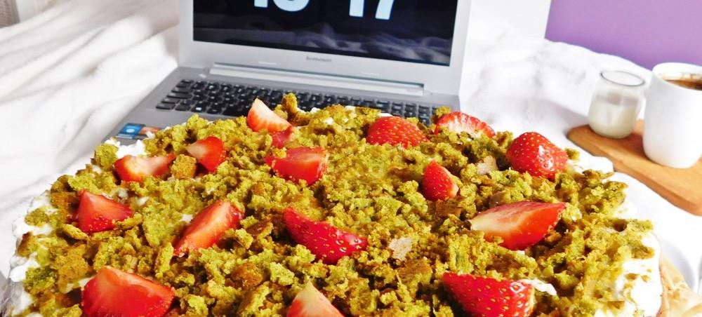 Pomysł na zdrowy, dietetyczny deser. Zielone ciasto!