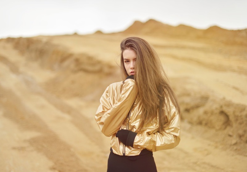 DESERT | METALLIC JACKET