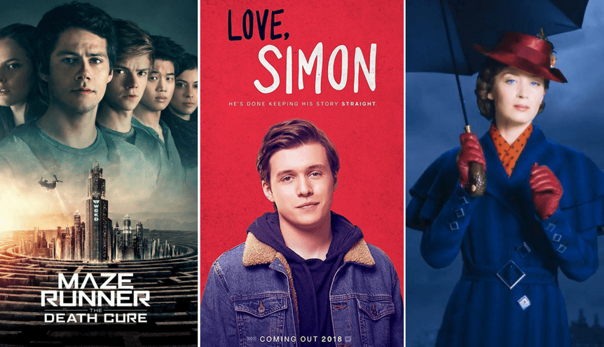 Najlepsze filmy dla nastolatków w 2018 roku
