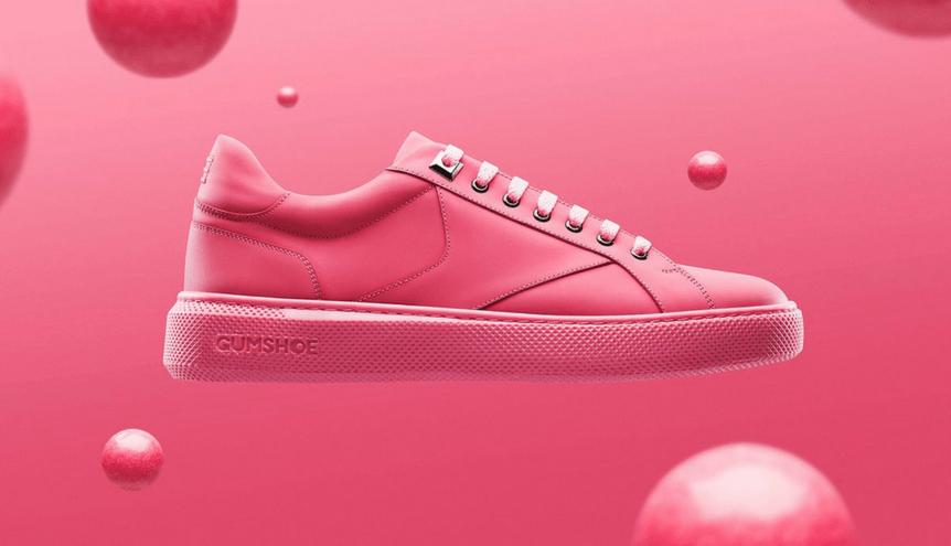 Te sneakersy są wykonane z…gumy do żucia!