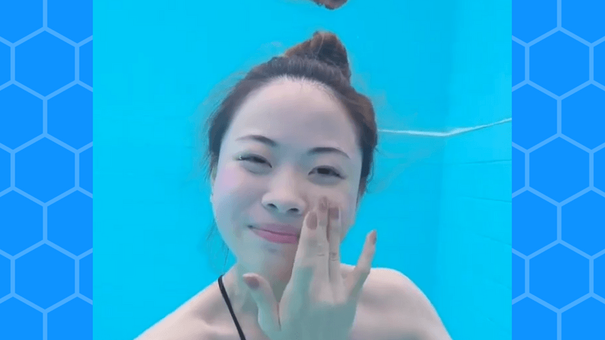 Czy da się zrobić makijaż pod wodą? Ona spróbowała! Zobacz efekty!