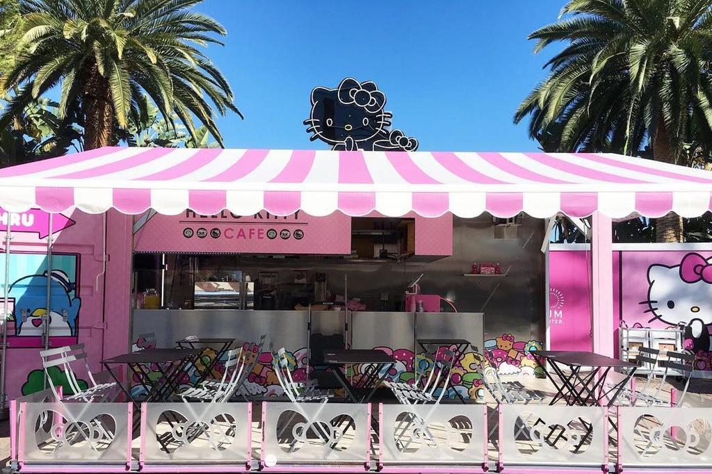 Powstała pierwsza na świecie Hello Kitty Cafe!