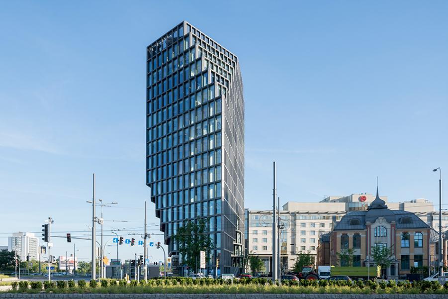 """Biurowiec """"Bałtyk"""" - kontrowersyjny budynek w Poznaniu!"""