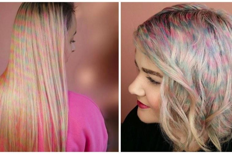 Confetti Hair - nowy trend na Instagramie!
