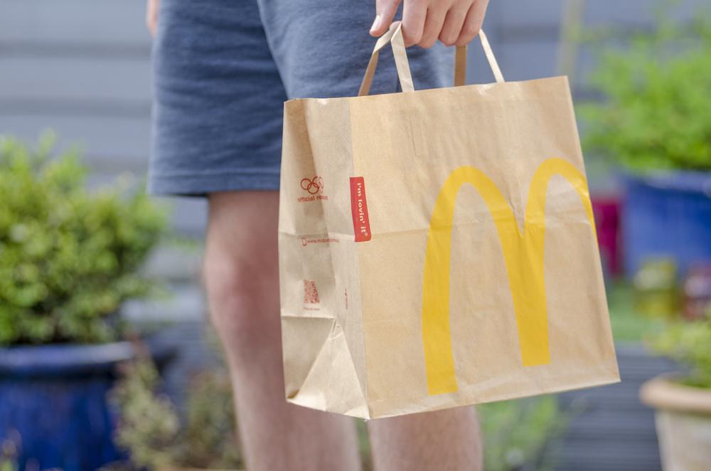 Już jest dowóz z McDonald's do Twojego domu!