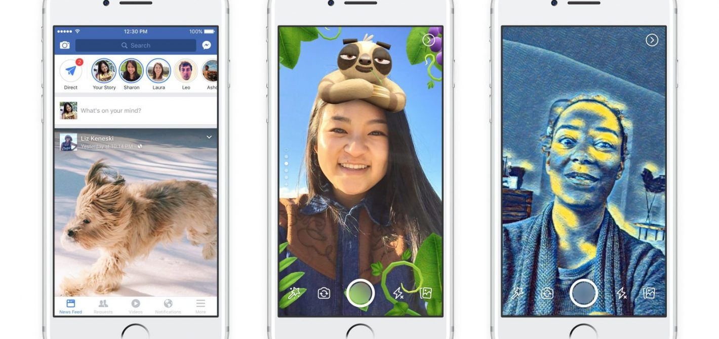 Facebook wierną kopią Snapchata, sprawdź najnowszą funkcję!
