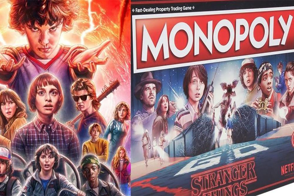 "Monopoly dla fanów ""Stranger Things"""