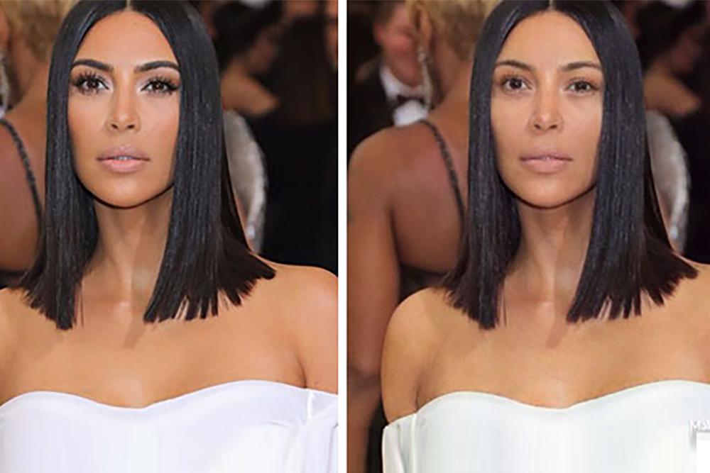 Aplikacja, która usuwa makijaż z twarzy celebrytów!