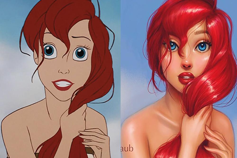 Metamorfoza księżniczek Disneya