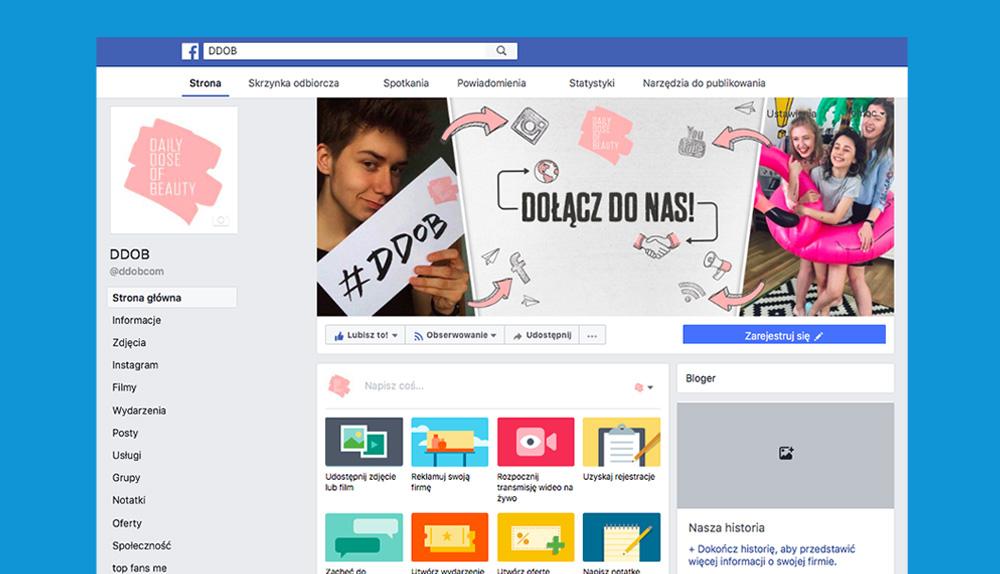 Oto, co musisz zrobić, jeśli chcesz czytać DDOB na Facebooku!
