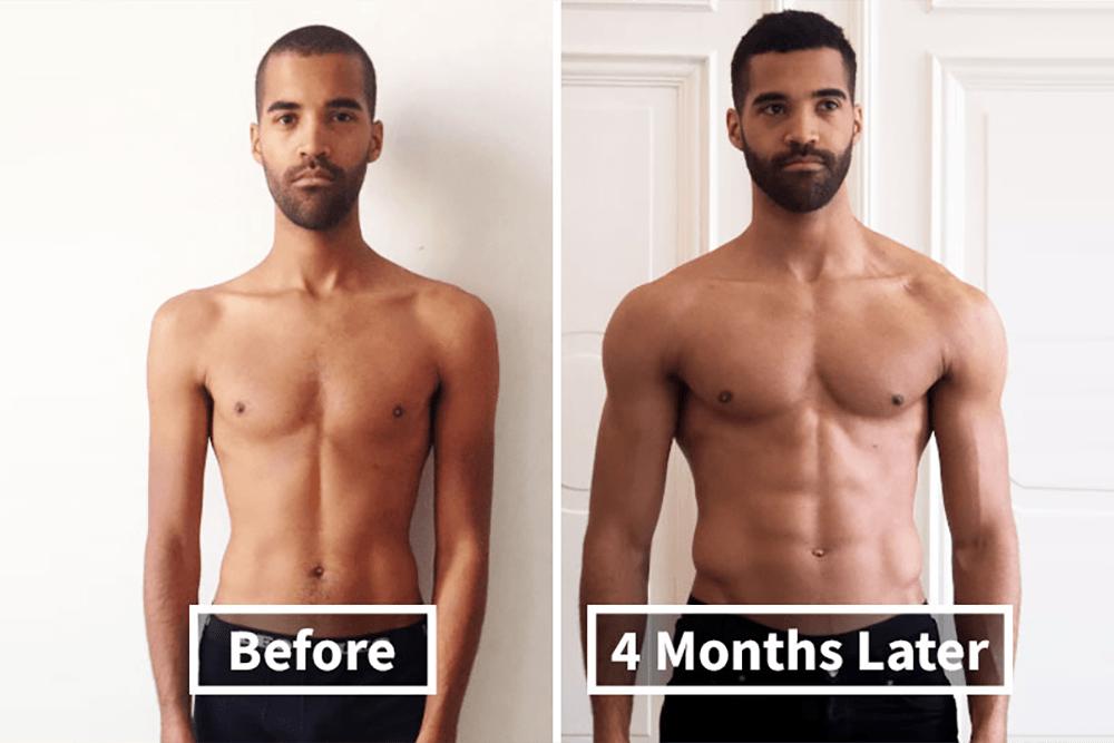 13 niezwykłych transformacji ciała po ćwiczeniach!