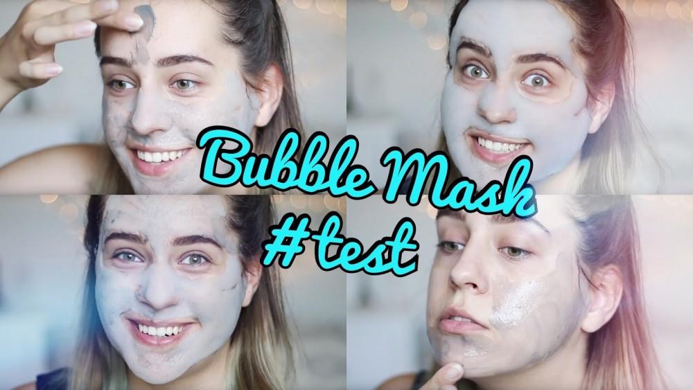 BUBBLE MASK - czy to działa?! || Test maski