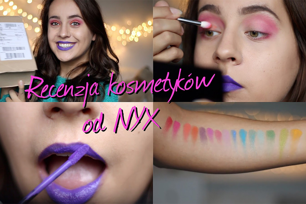 Recenzja paczki od NYX + makijaż || Mone Photos