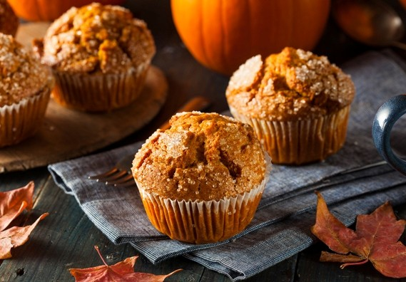 Jesienna kuchnia: dyniowe muffinki