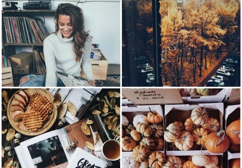 Jak zrobić idealny jesienny feed na Instagramie?