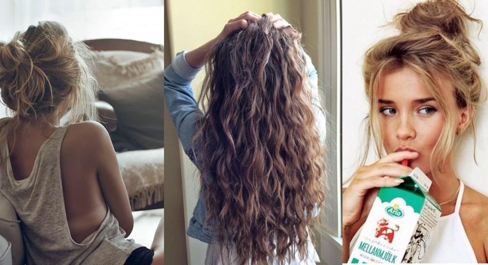 Triki, które pomogą Ci obudzić się rano z piękną fryzurą!