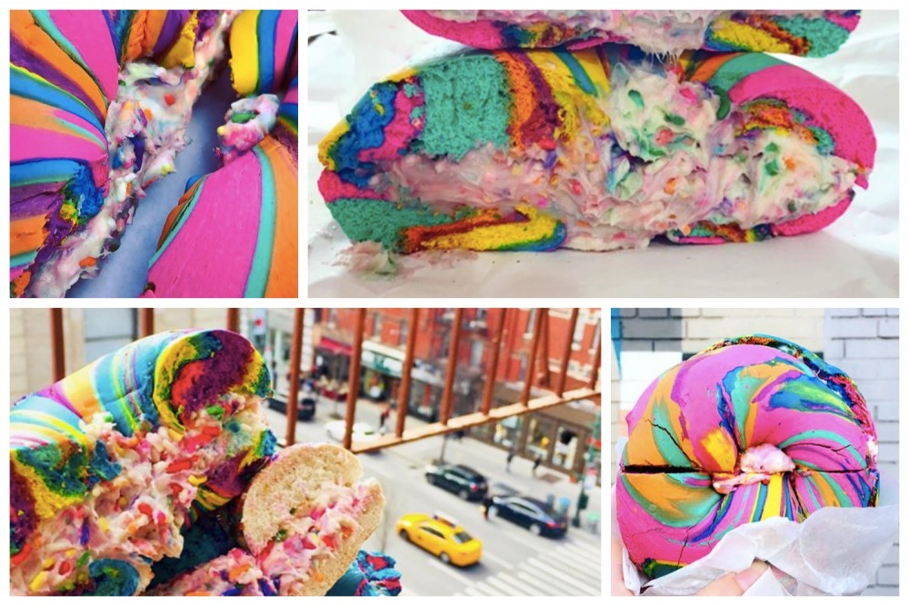 #RainbowBagels to najnowszy hit Instagrama!