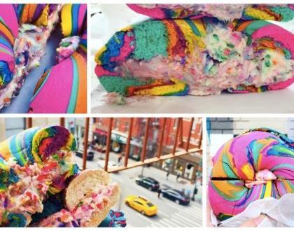 #RainbowBagels to najnowszy hit Instagrama!