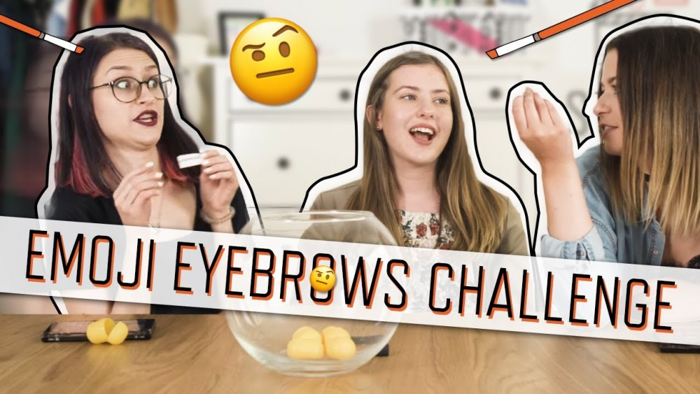 EMOJI EYEBROWS CHALLENGE | VIDEO