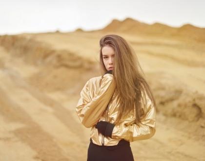 DESERT | METALLIC JACKET