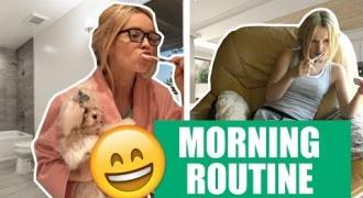 MATKA VS CÓRKA - MORNING ROUTINE