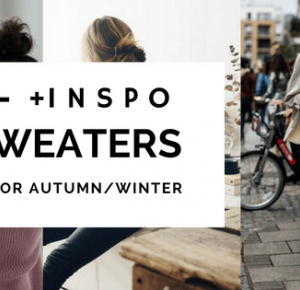 10 sweaters perfect for autumn/winter   INSPIRATIONS - Aleksandra Wojtysiak