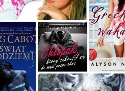 Top 5 książek dla nastolatków !