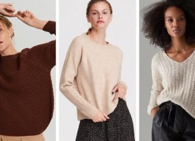 Najmodniejsze swetry na jesień 2019 !