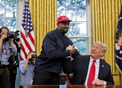 Kanye West prezydentem USA a Kim Kardashian zastąpi Melanię Trump?