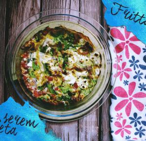 Z cyklu Weronika gotuje: frittata z serem feta - 96pln