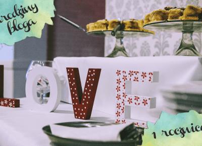 Urodziny bloga - pierwsza rocznica - 96pln