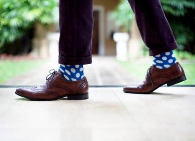 Kolorowe skarpetki. Kiedy i jak nosić ? -  Blog dla niego - fashion, lifestyle, business, travels